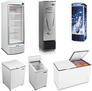 Manutenção de freezer comercial