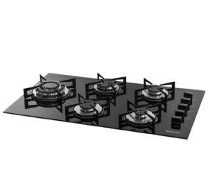 Instalação de cooktop